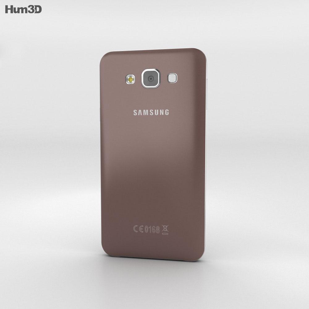 Samsung Galaxy E7 Brown Modello 3D