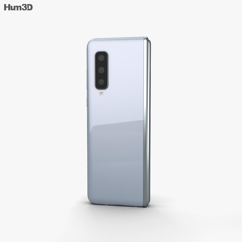 Samsung Galaxy Fold Space Silver 3d model