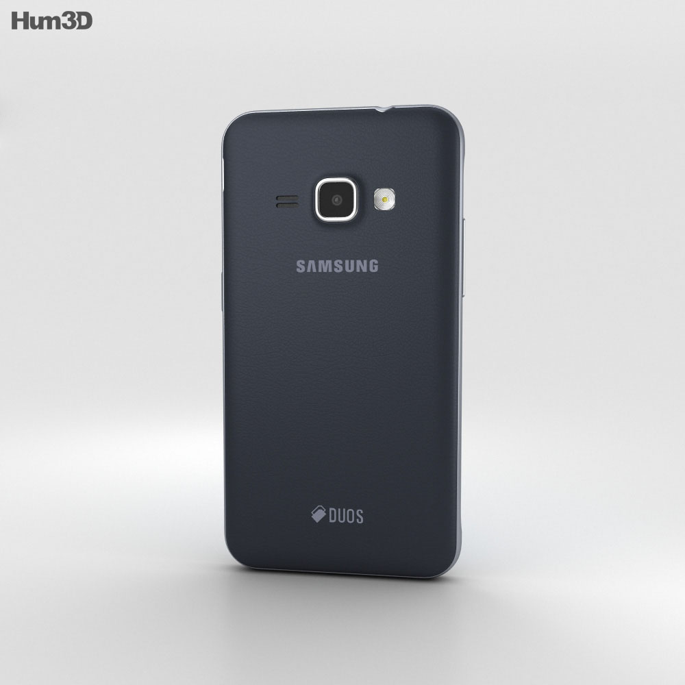 Samsung Galaxy J1 (2016) Black 3d model