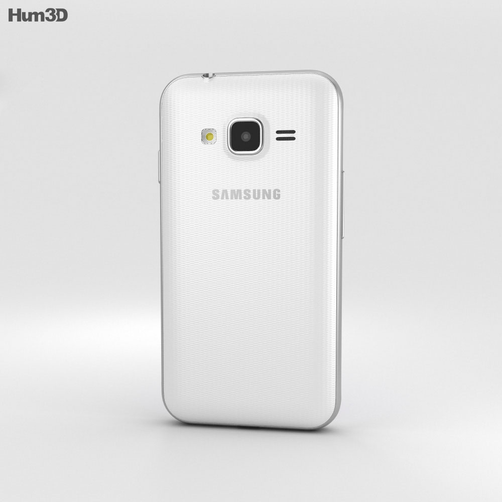Samsung Galaxy J1 Mini Prime White 3d model