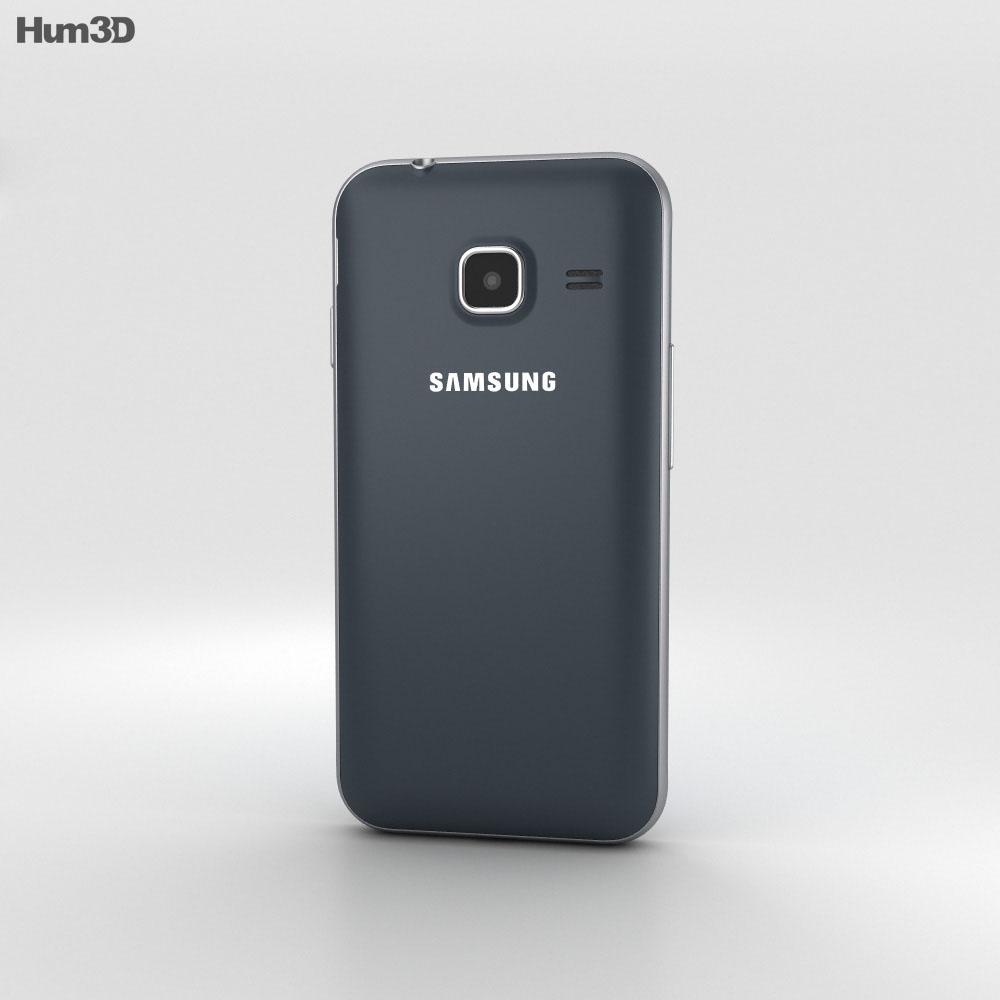 Samsung Galaxy J1 Nxt Black 3d model