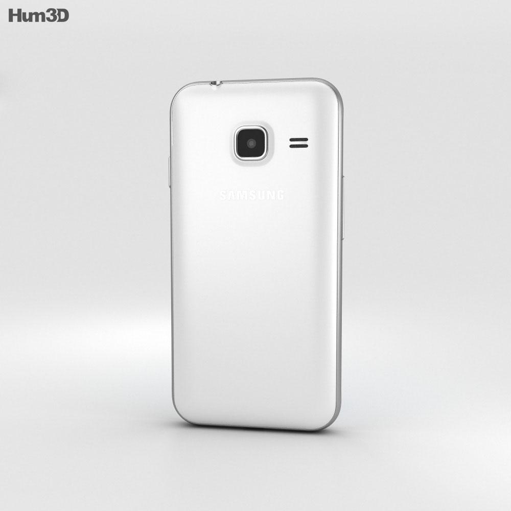Samsung Galaxy J1 Nxt White 3d model