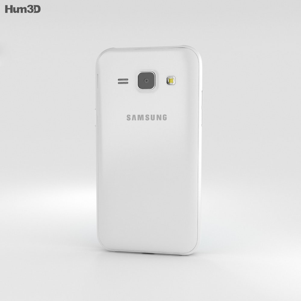 Samsung Galaxy J1 White 3d model