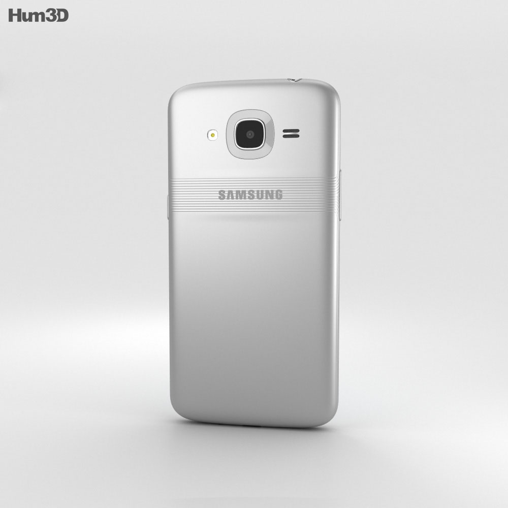Samsung Galaxy J2 (2016) Silver 3d model