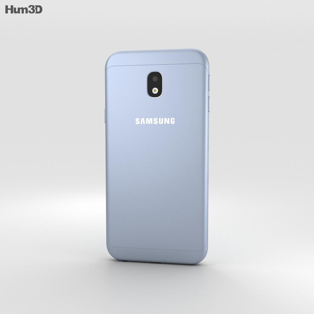 Samsung Galaxy J3 (2017) Blue 3d model