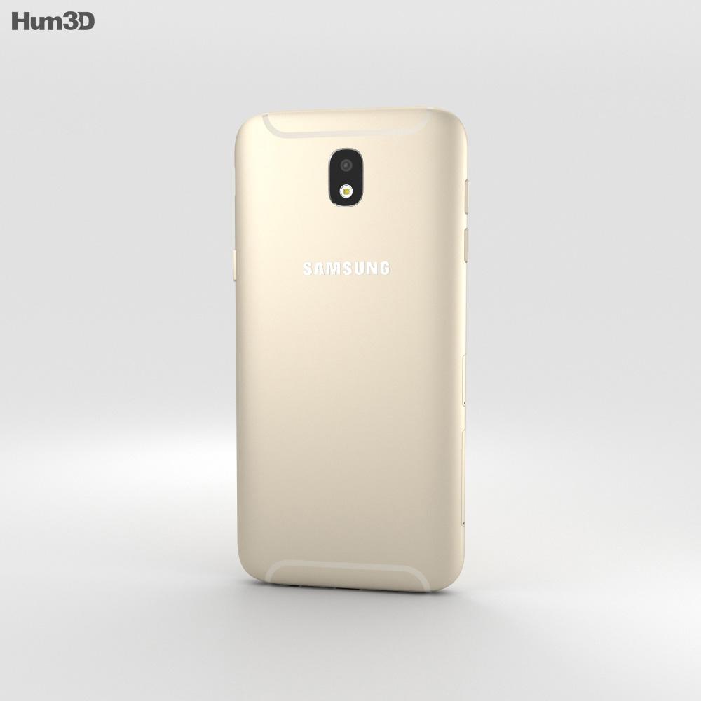 Samsung Galaxy J5 (2017) Gold 3d model