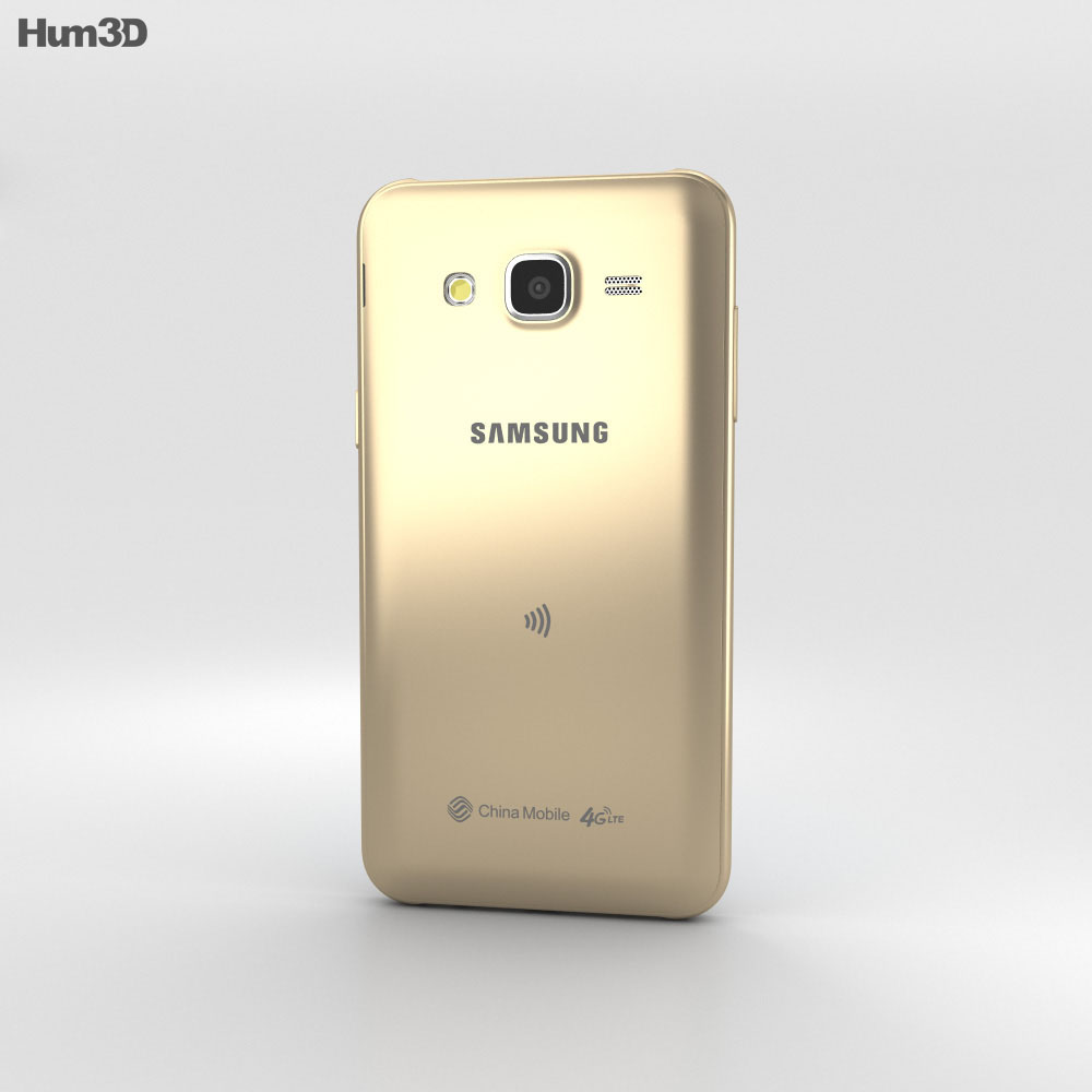 Samsung Galaxy J5 Gold 3d model