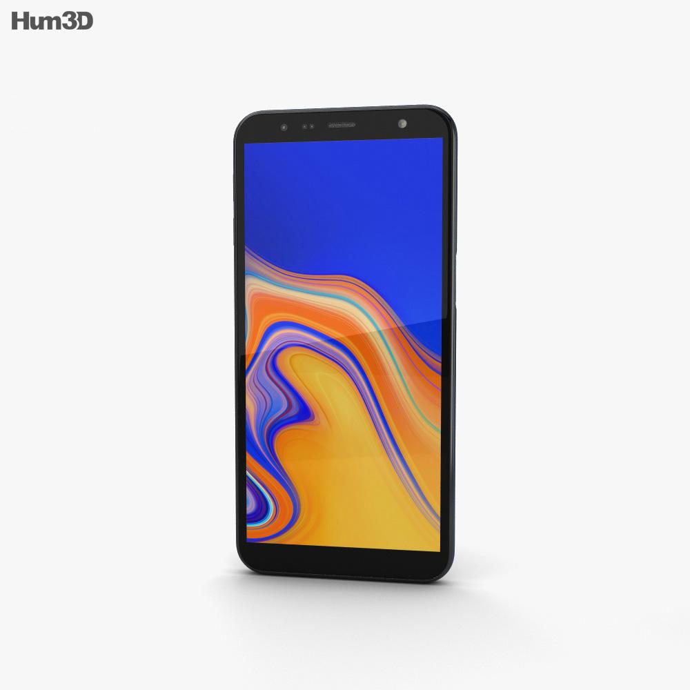 Samsung Galaxy J6 Plus Black 3d model