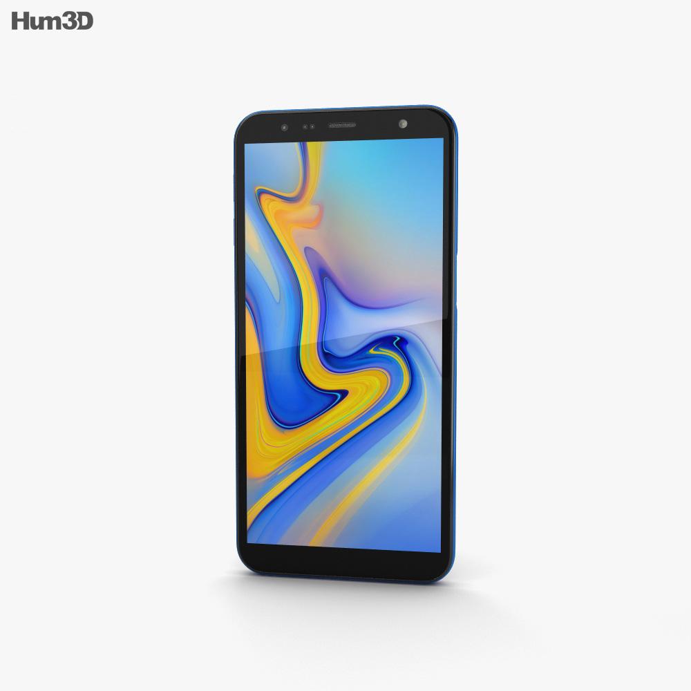 Samsung Galaxy J6 Plus Blue 3d model