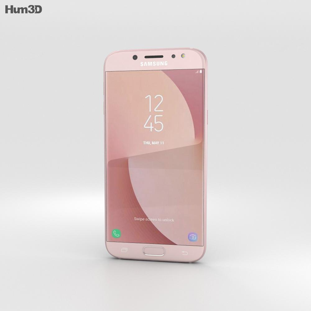 Samsung Galaxy J7 (2017) Pink 3d model