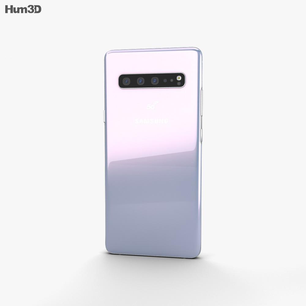 Samsung Galaxy S10 5G Prism White 3d model