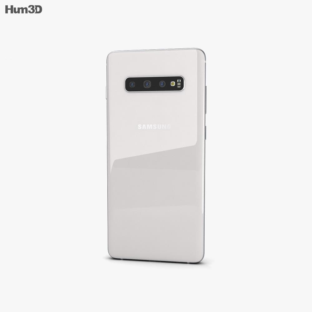 Samsung Galaxy S10 Plus Ceramic White 3d model