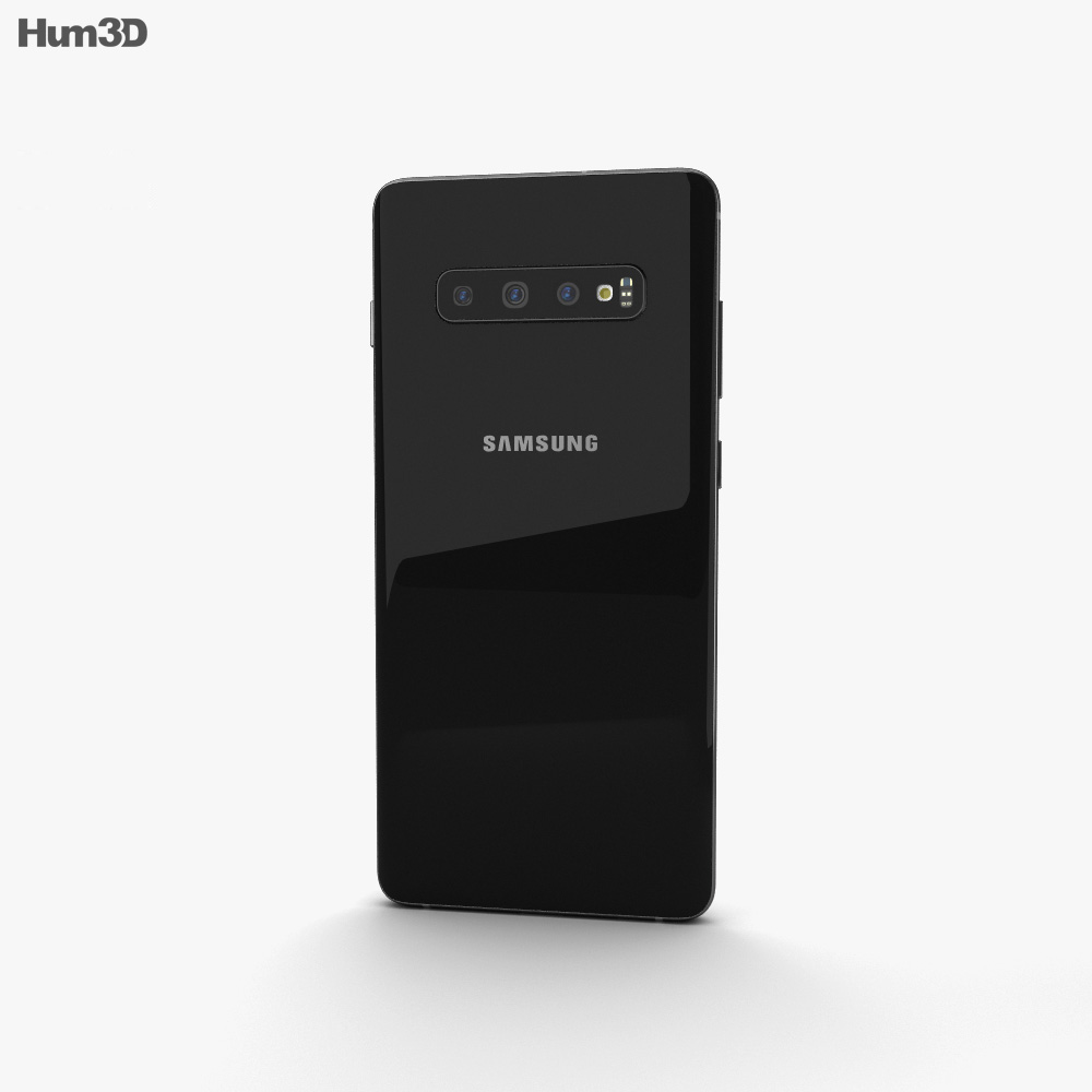 Samsung Galaxy S10 Plus Prism Black 3d model