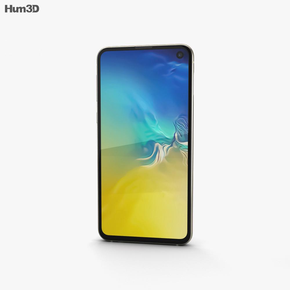 Samsung Galaxy S10e Canary Yellow 3d model