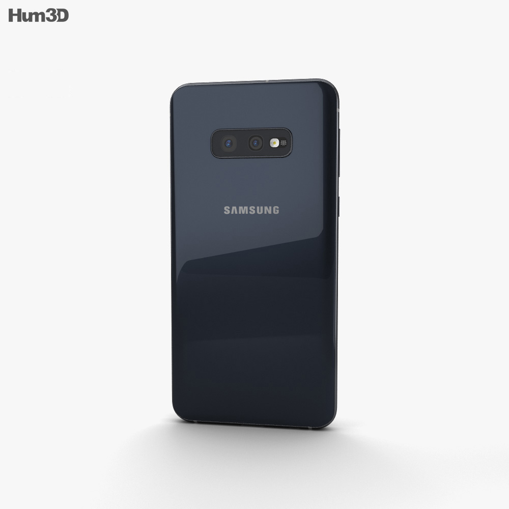 Samsung Galaxy S10e Prism Black 3d model
