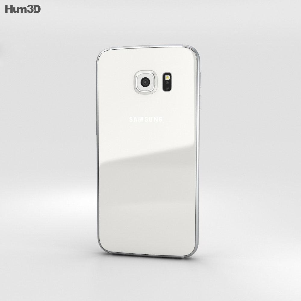 Samsung Galaxy S6 White Pearl 3d model