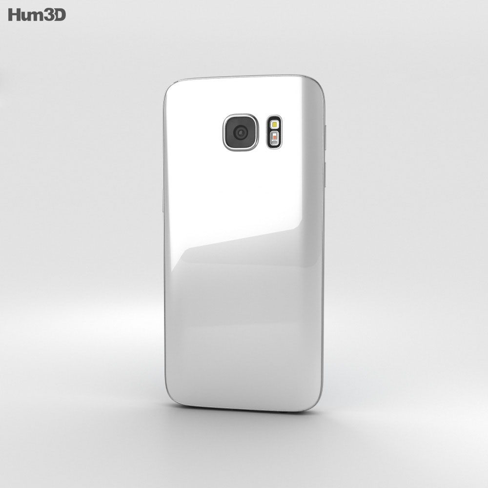Samsung Galaxy S7 White 3d model