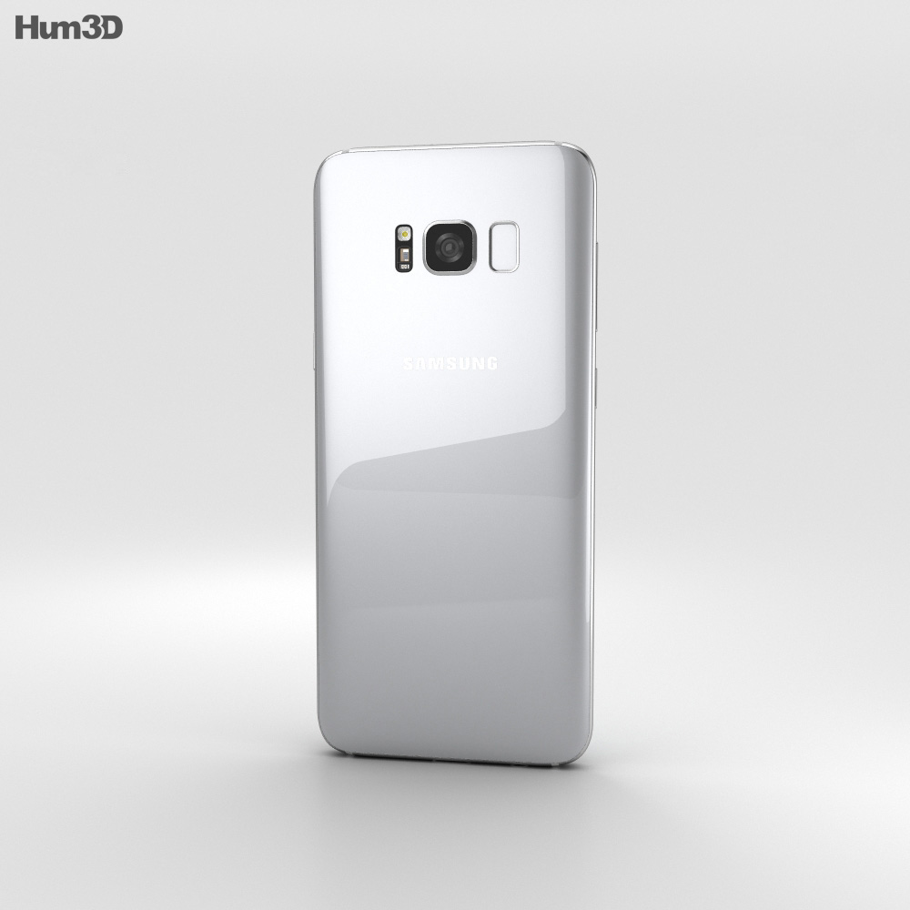 Samsung Galaxy S8 Plus Arctic Silver 3d model