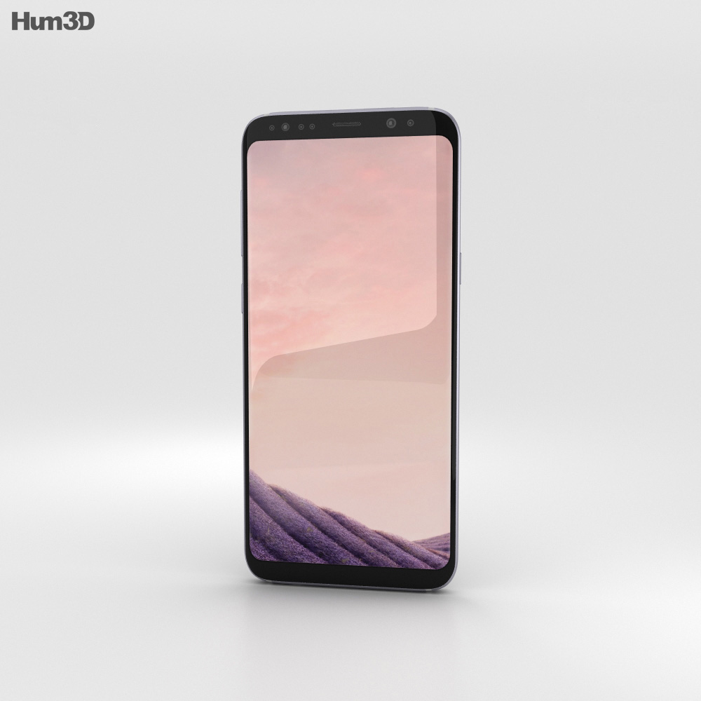 Samsung Galaxy S8 Plus Orchid Gray 3d model
