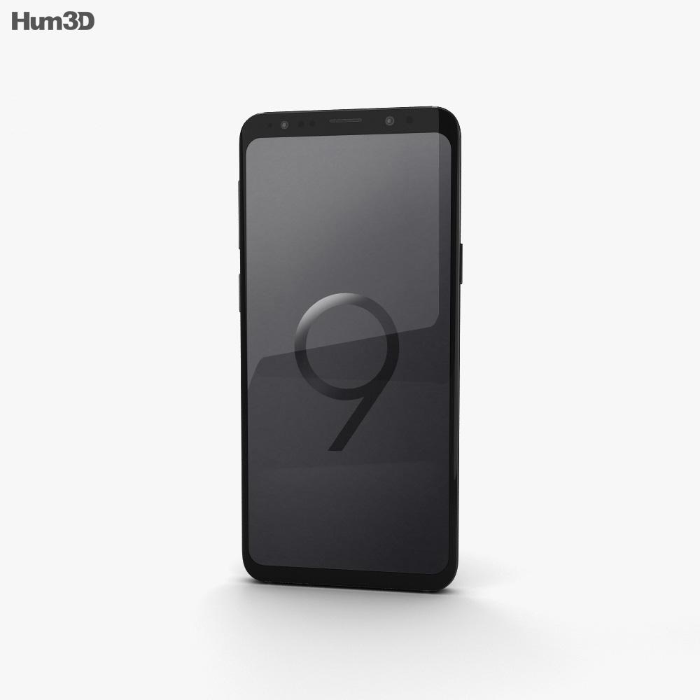 Samsung Galaxy S9 Midnight Black 3d model