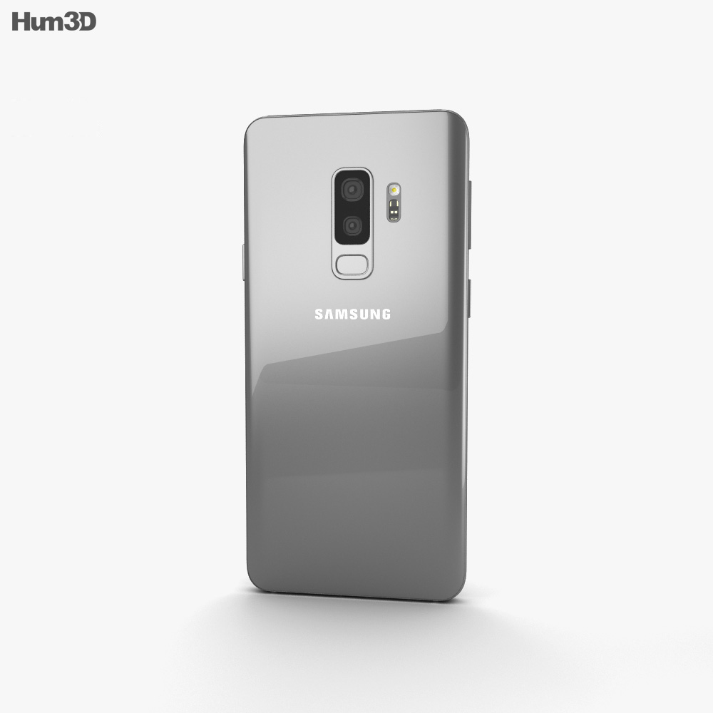 Samsung Galaxy S9 Plus Titanium Gray 3d model
