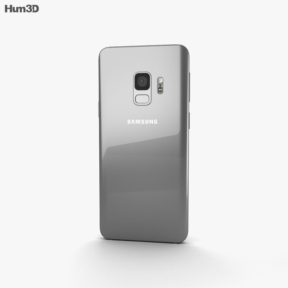 Samsung Galaxy S9 Titanium Gray 3d model