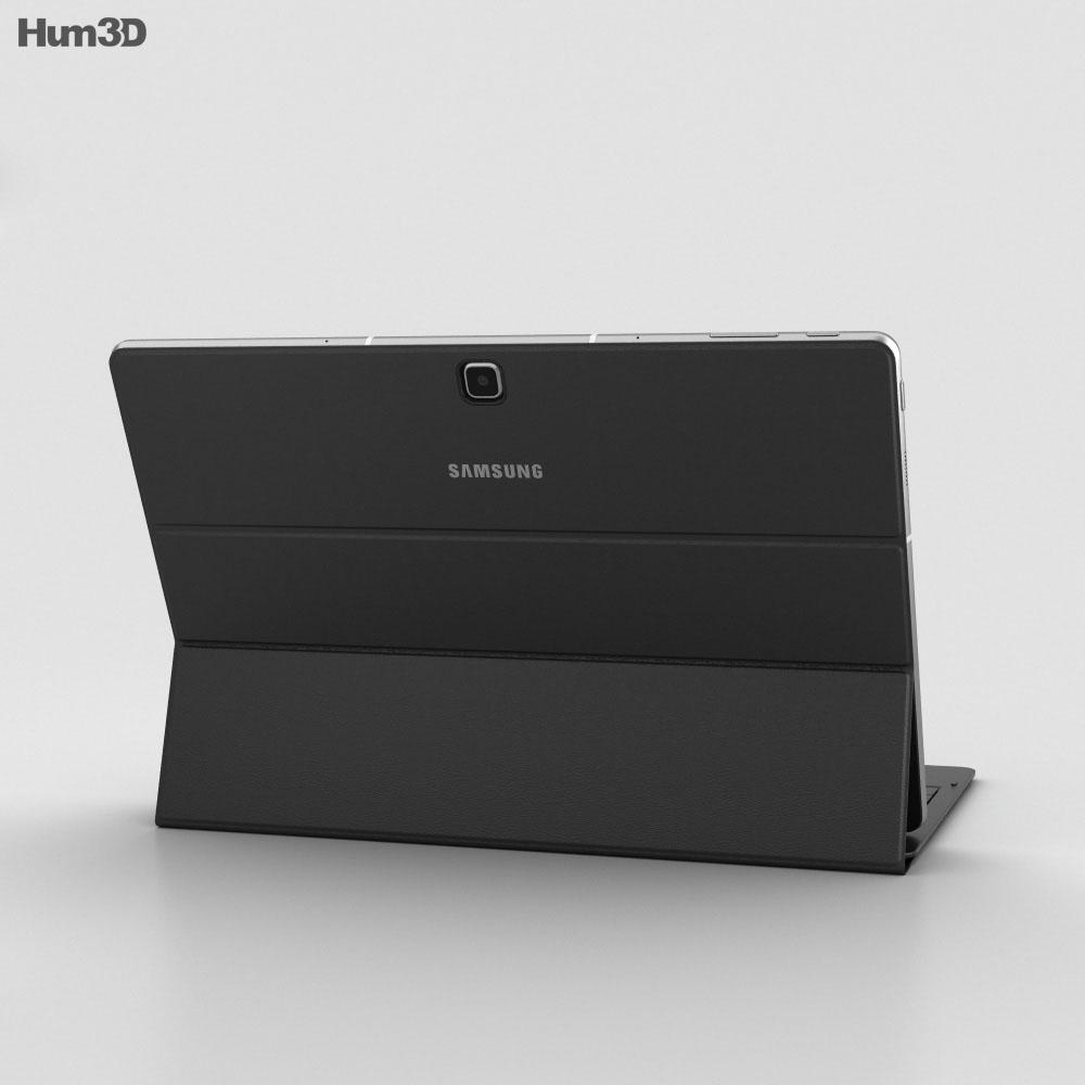 Samsung Galaxy TabPro S Black 3d model