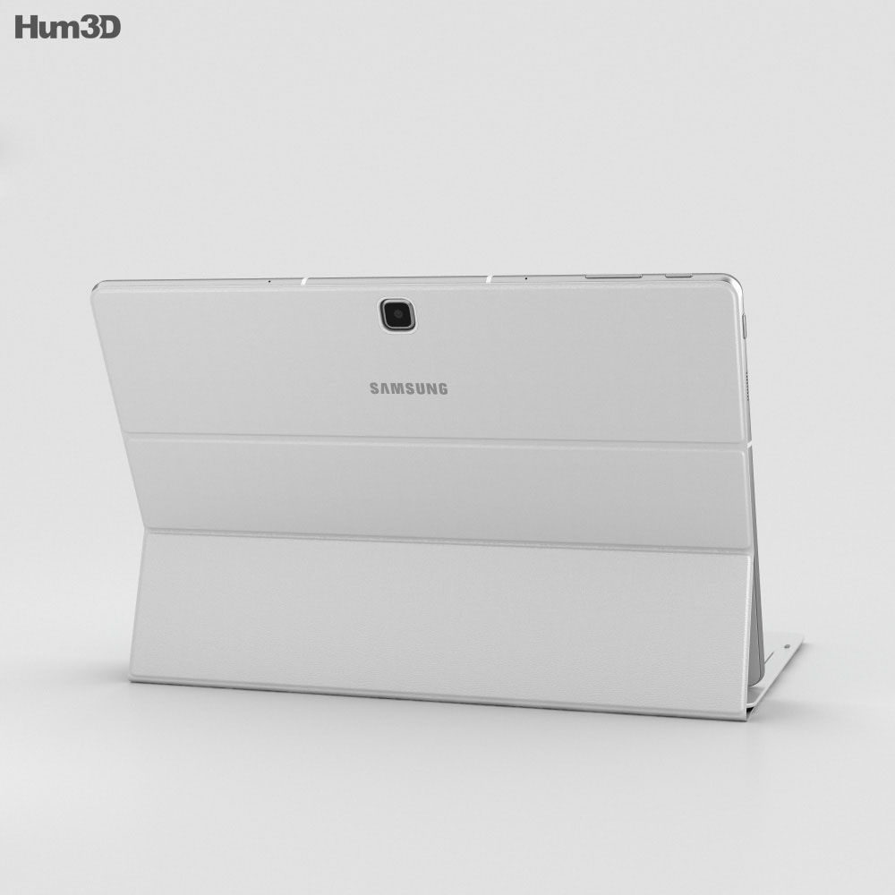 Samsung Galaxy TabPro S White 3d model