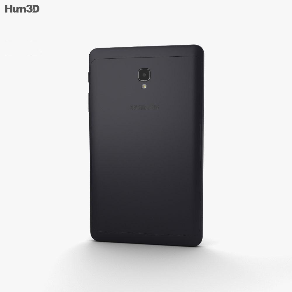 Samsung Galaxy Tab A 8.0 (2017) Black 3d model
