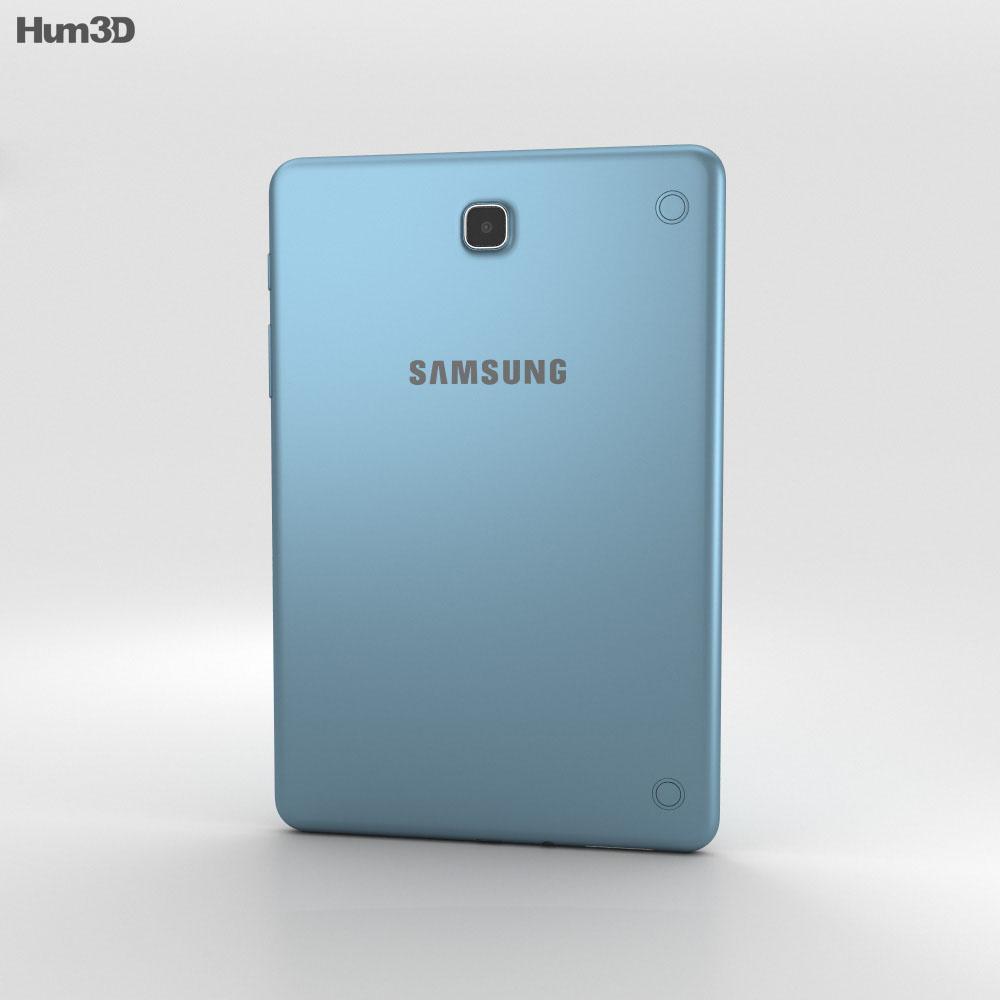 Samsung Galaxy Tab A 8.0 Smoky Blue 3d model