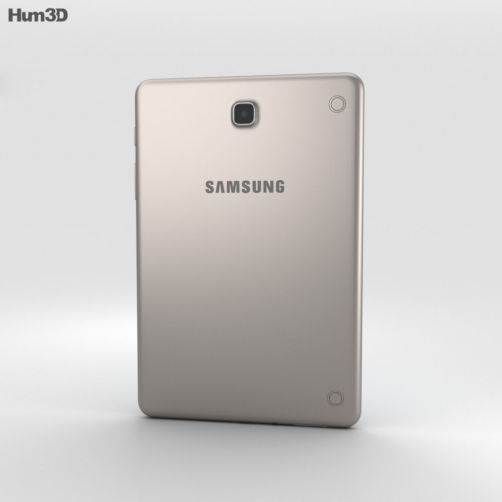 Samsung Galaxy Tab A 8.0 Smoky Titanium 3d model