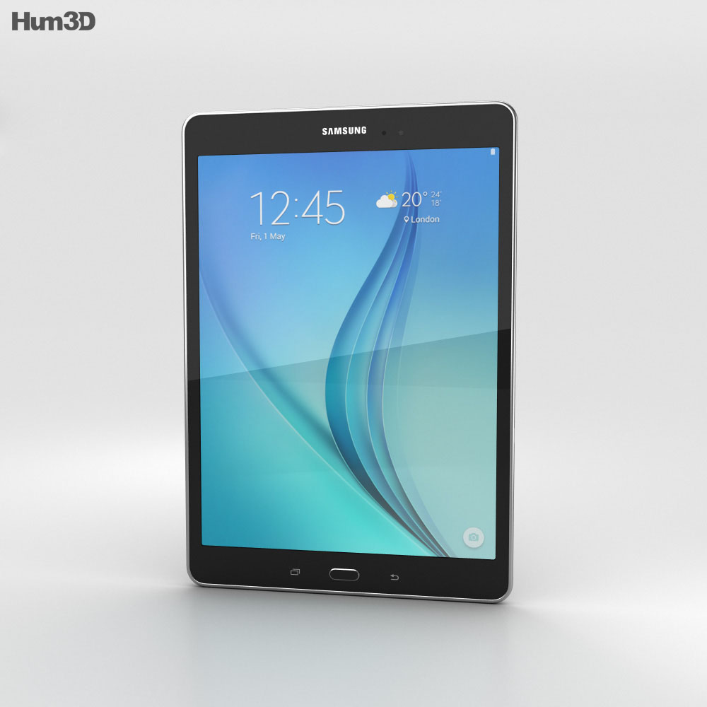 Samsung Galaxy Tab A 9.7 Smoky Titanium 3d model