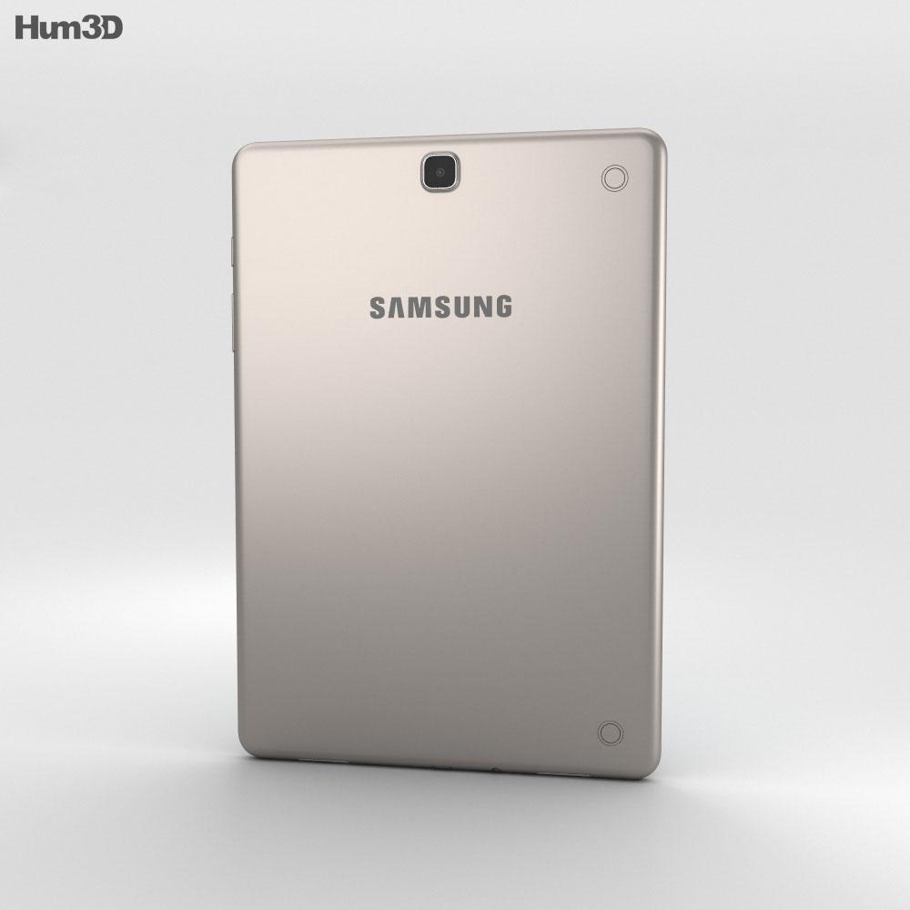 Samsung Galaxy Tab A 9.7 Smoky Titanium 3d model