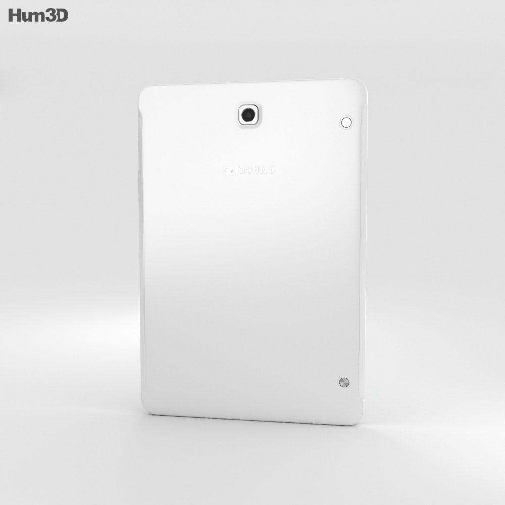 Samsung Galaxy Tab S2 8.0-inch LTE White 3d model