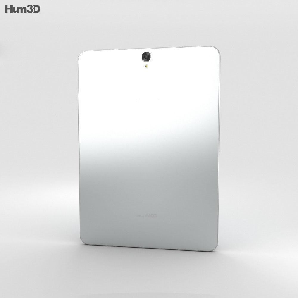 Samsung Galaxy Tab S3 9.7-inch White 3d model