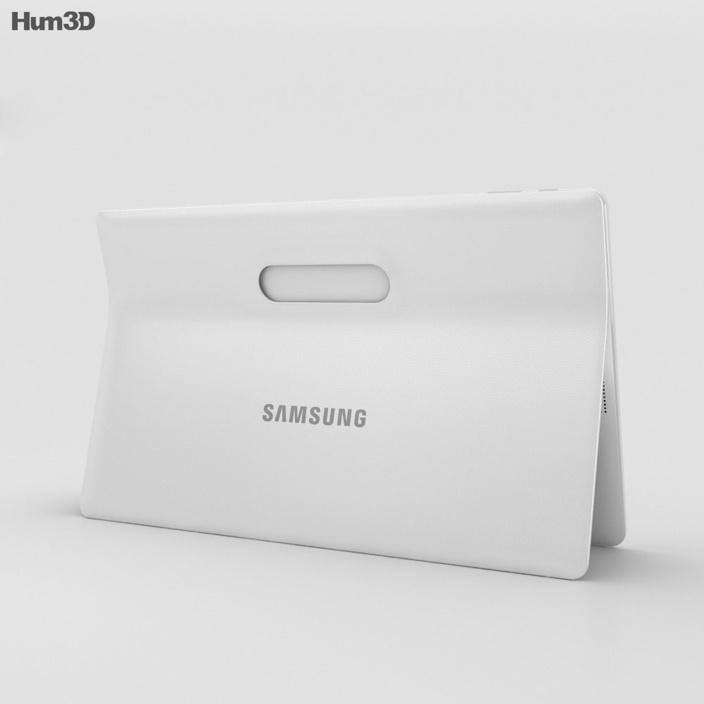 Samsung Galaxy View White 3d model