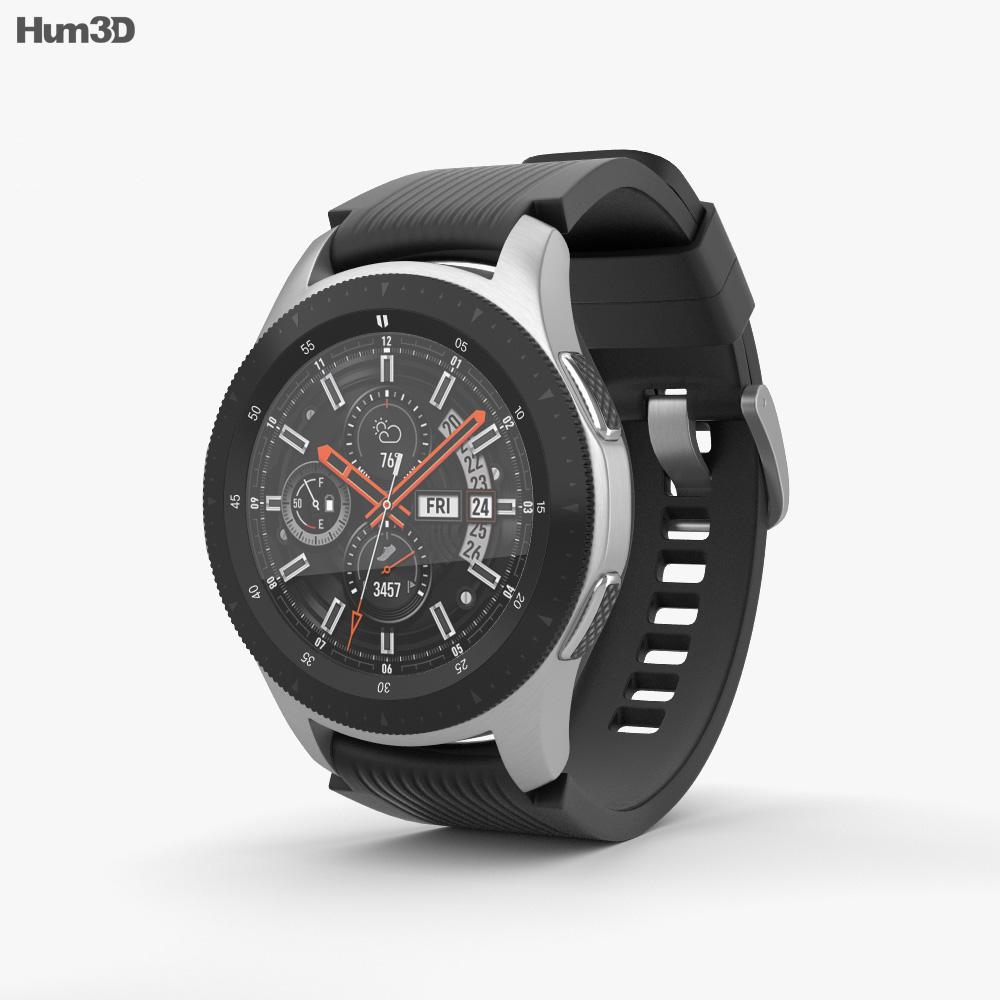 Samsung Galaxy Watch 46mm Onyx Black 3d model