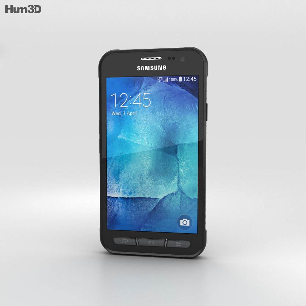 Samsung Galaxy Xcover 3 Gray 3d model
