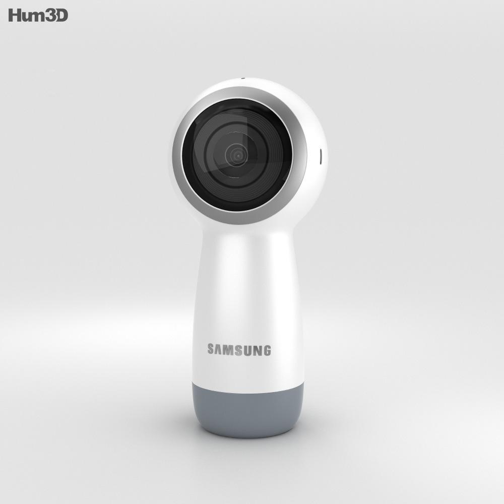 Samsung Gear 360 (2017) Camera 3d model
