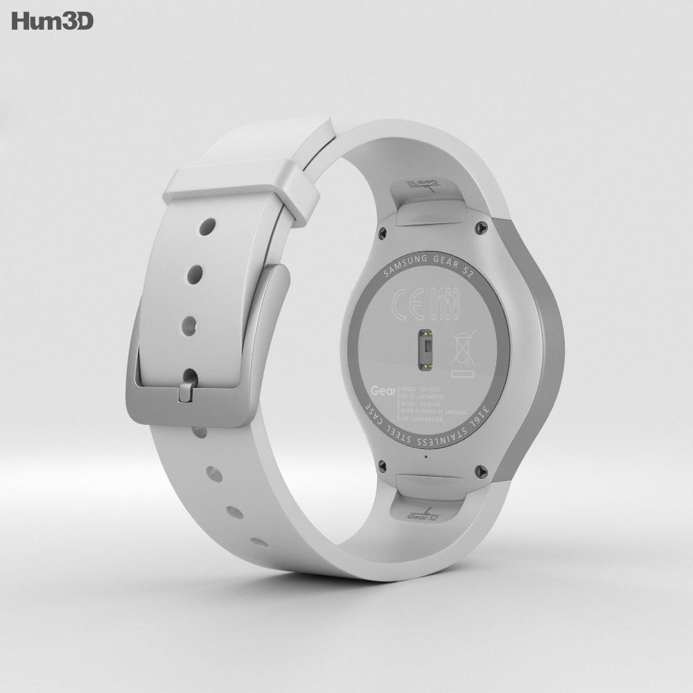 Samsung Gear S2 White 3d model