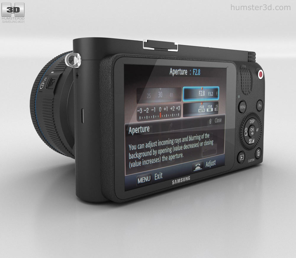 Samsung NX1000 3d model