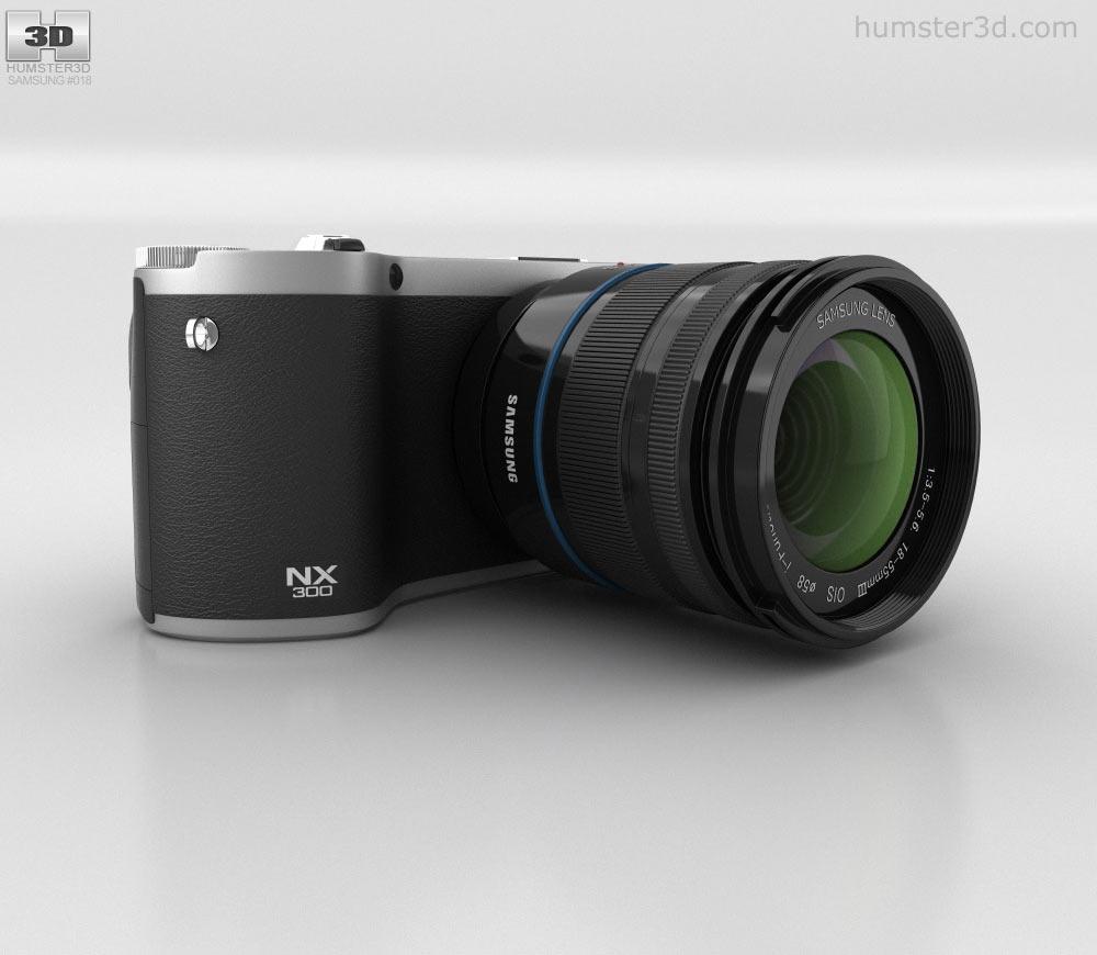 Samsung NX 300 3d model