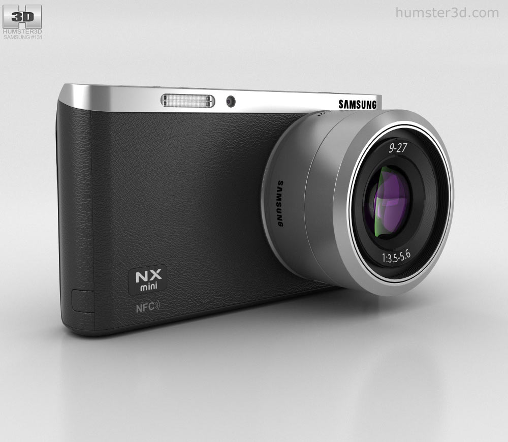 Samsung NX Mini Smart Camera Black 3d model