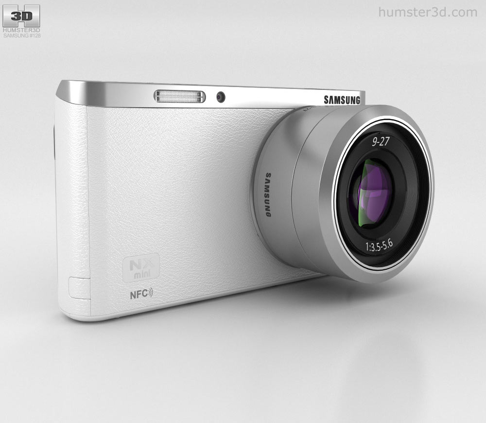 Samsung NX Mini Smart Camera White 3d model