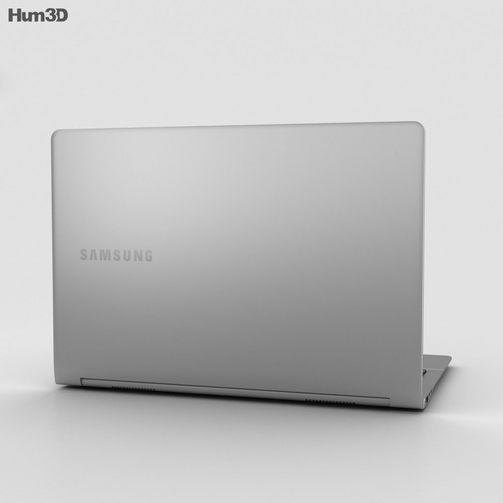 Samsung Notebook 9 Iron Silver 3d model