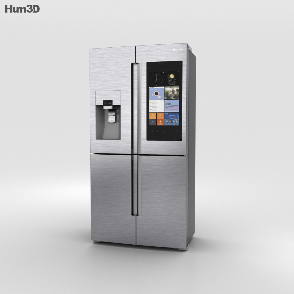 3D model of Samsung Smart Hub