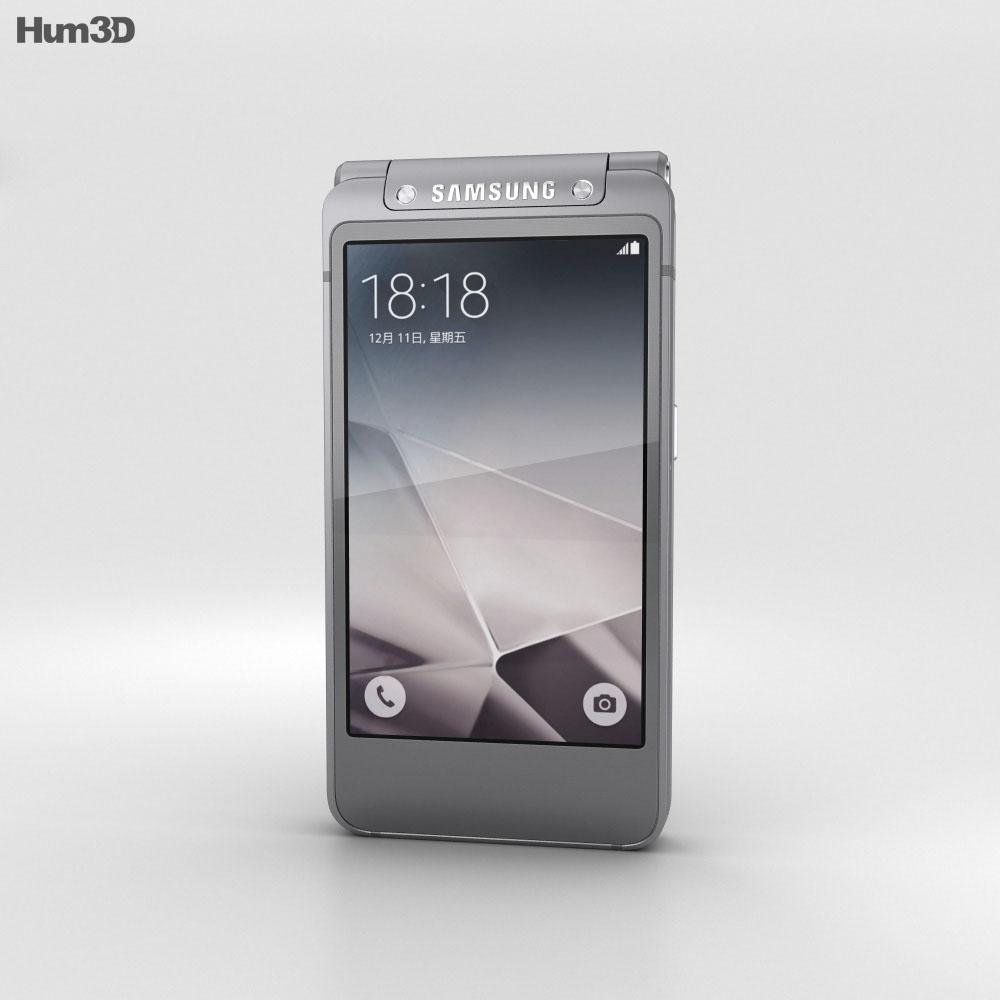 Samsung W2016 Gray 3d model