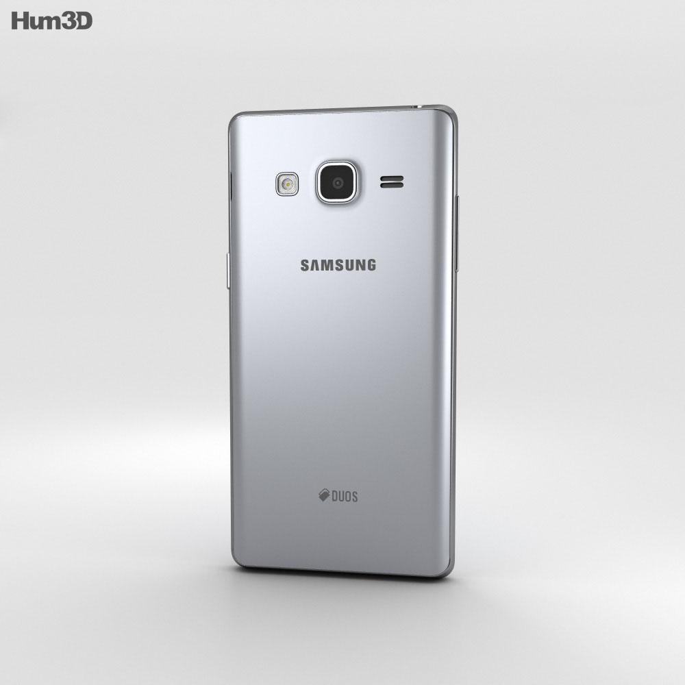 Samsung Z3 Silver 3d model
