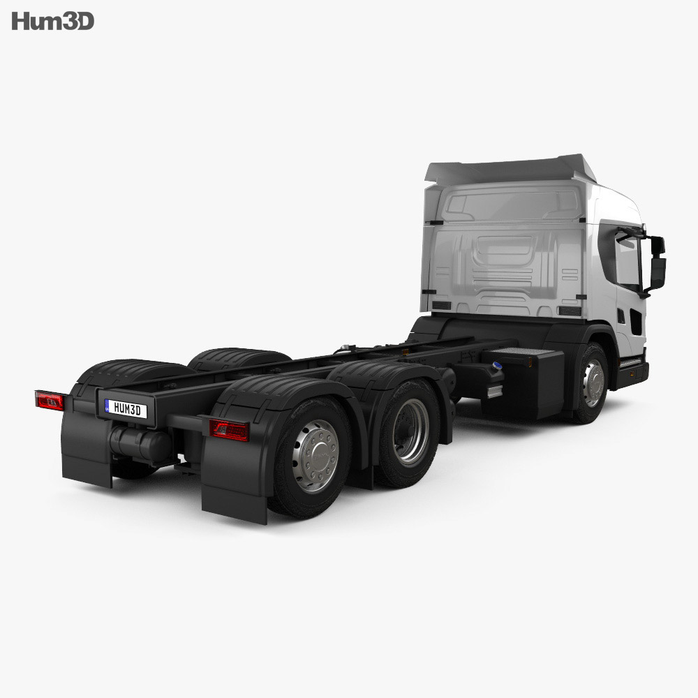 Scania L Chassis Truck 2018 3d model