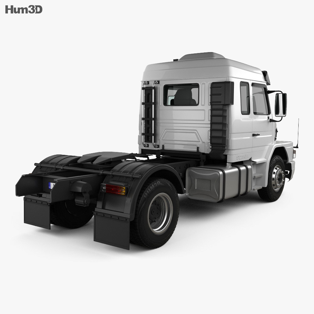 Scania T113H Tractor Truck 1991 3d model